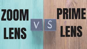 Prime lens vs Zoom lens (What is the difference between a prime lens and a zoom lens?)
