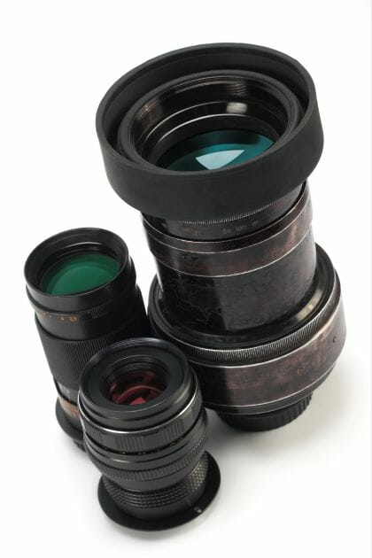 types of zoom lens