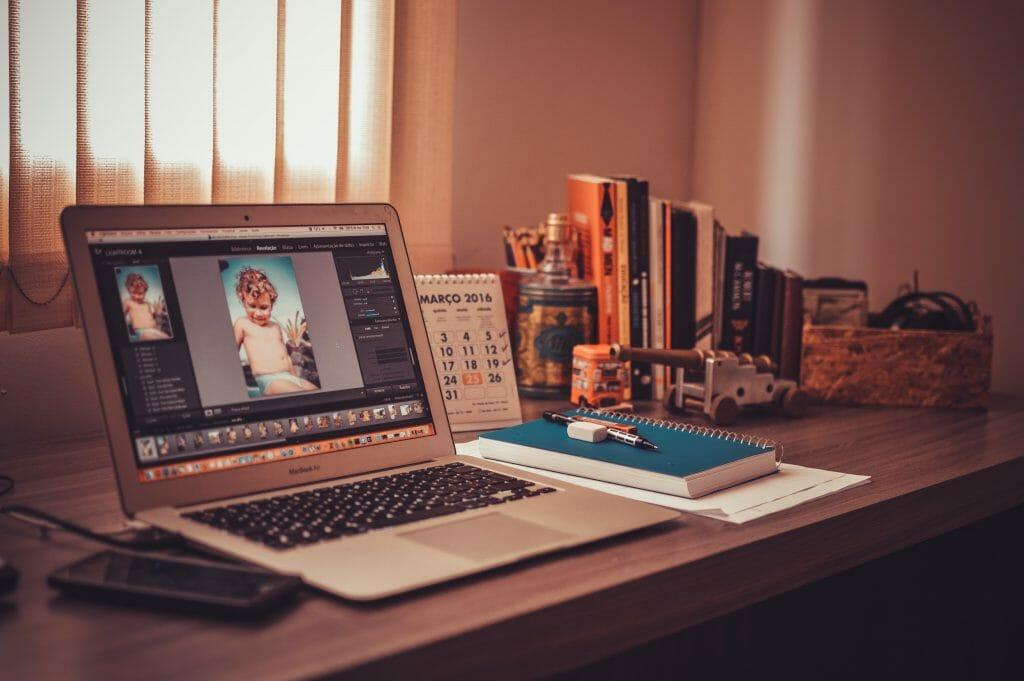 Editing software for filmmaking