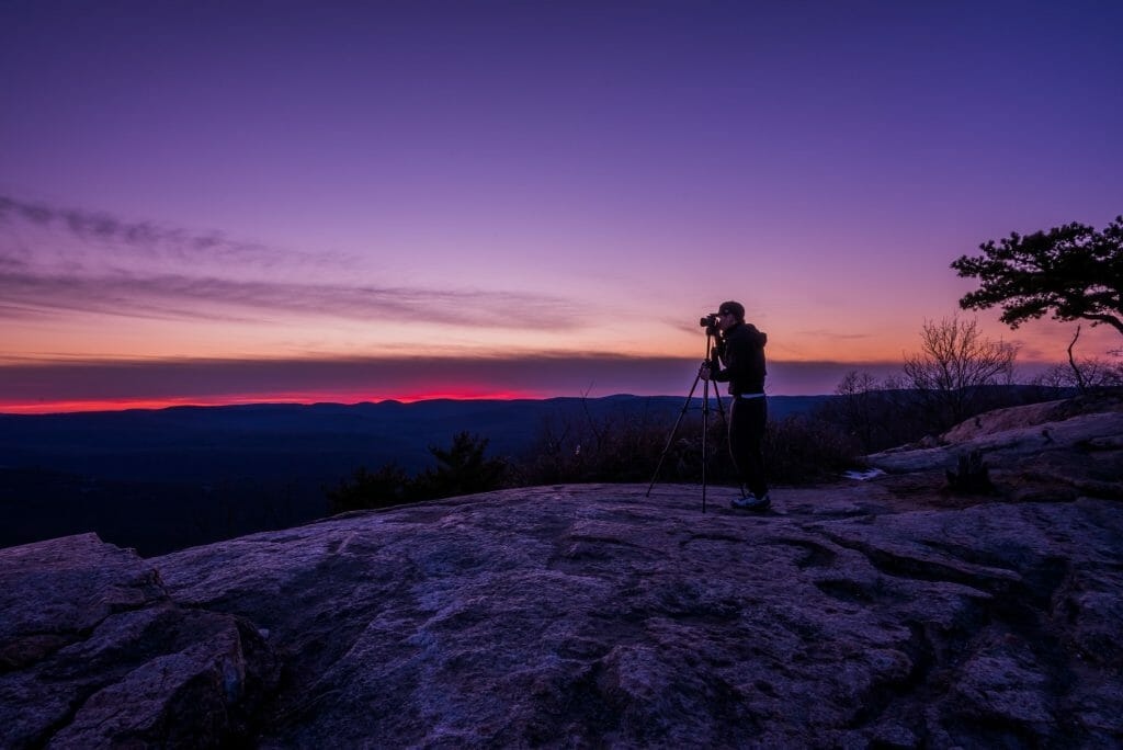 Use a tripod and remote shutter release to avoid camera shake